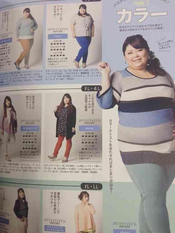 服のサイズが3L以上の方
