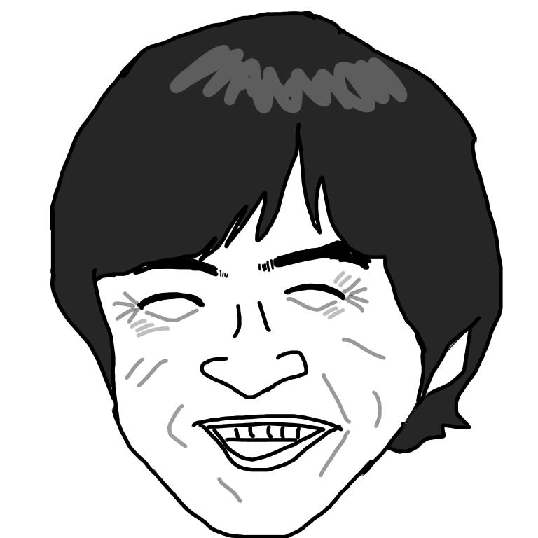 【お絵描き】有名人をゆるいタッチで描くトピ