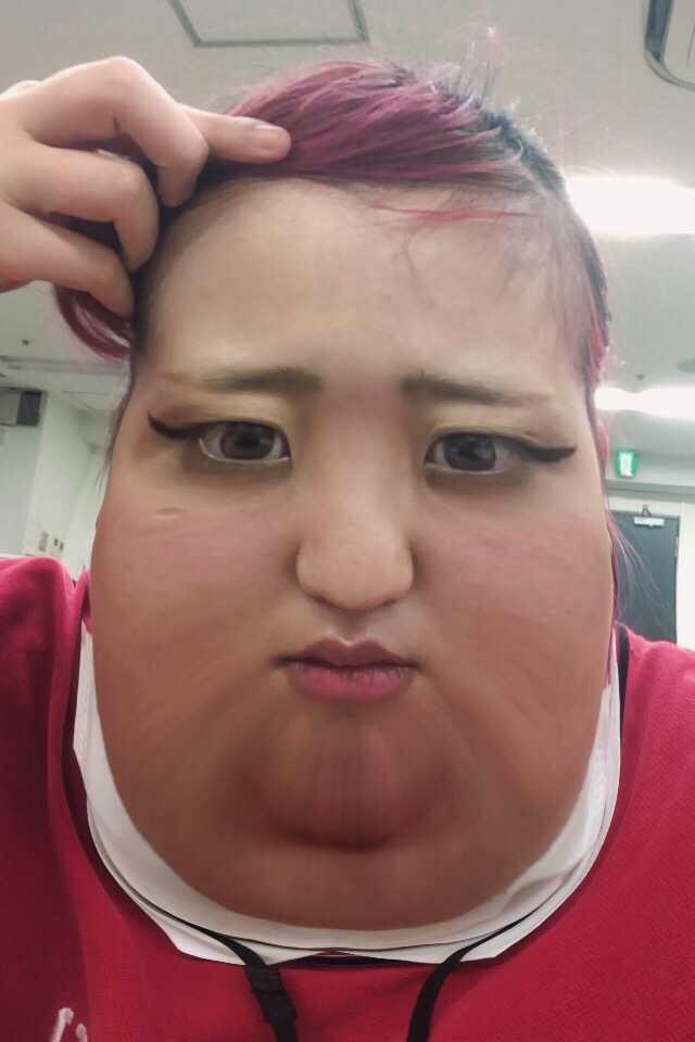 顔だけ太りたい