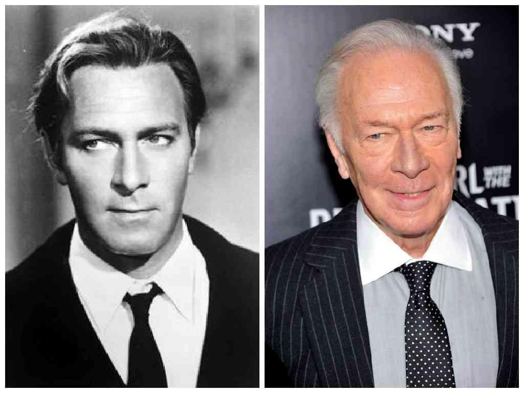 ご高齢の俳優さん