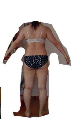 画像で自分の体型を説明してください