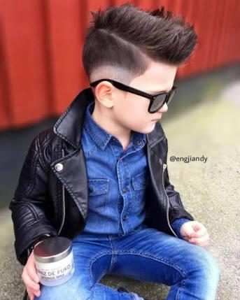 お子さんの髪型どうしてますか?