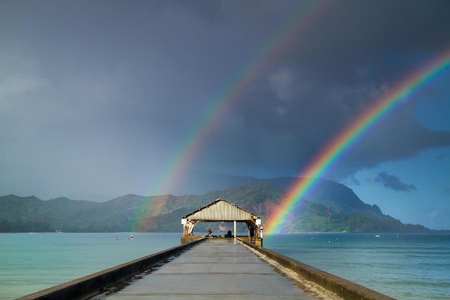 虹の画像を見て癒されるトピ