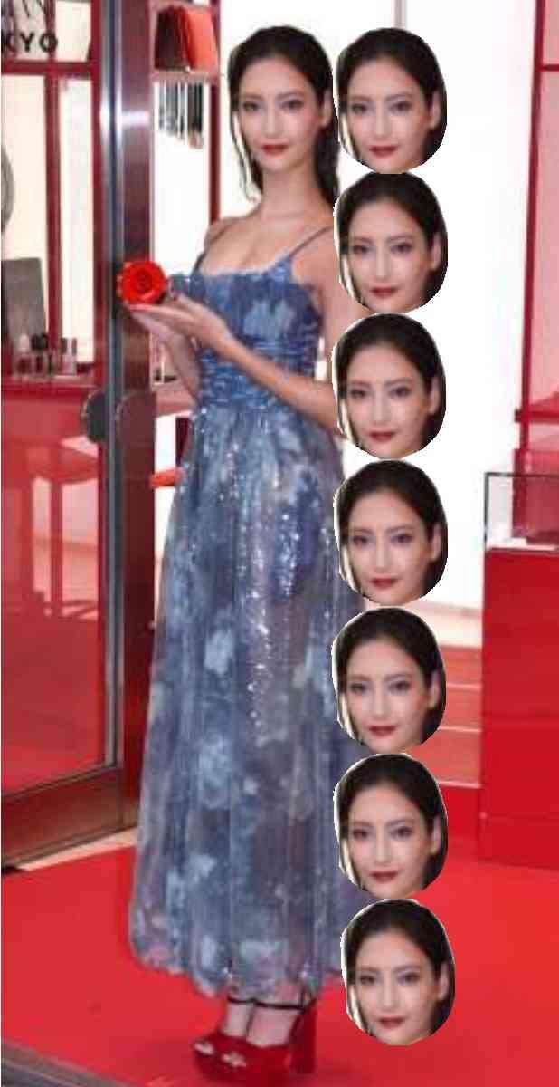 菜々緒「気持ち高まる」500万円豪華ロングドレス姿を披露