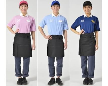 いろいろな店の制服が見たい