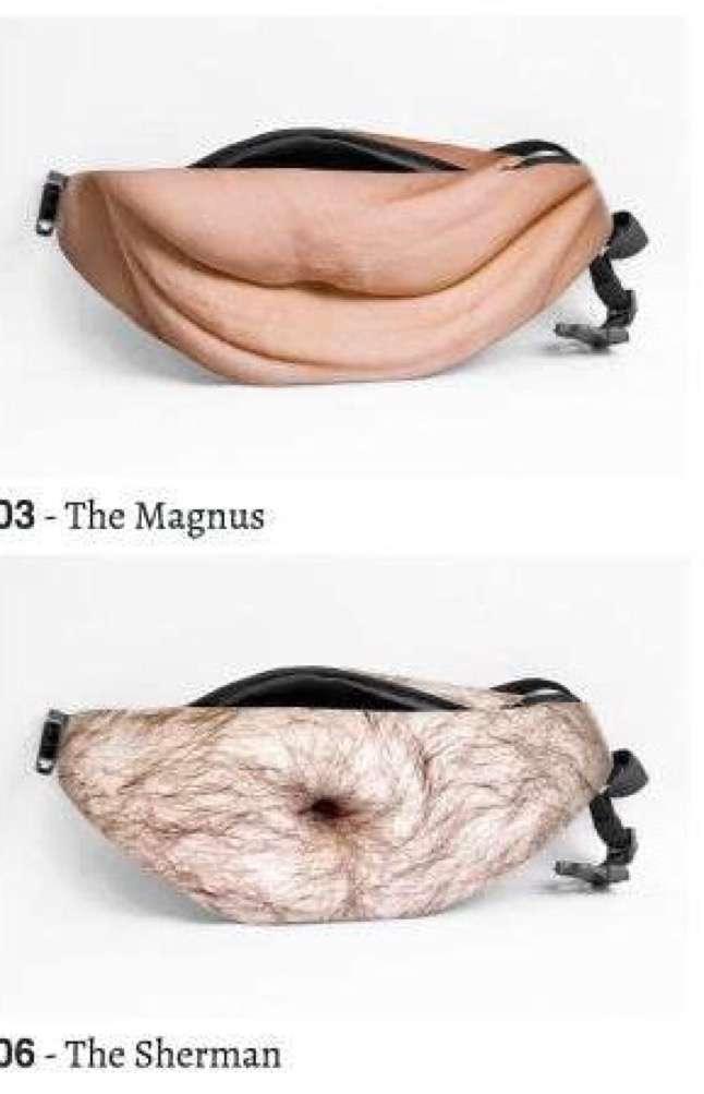 中年太りのお腹になれるバッグが誕生!