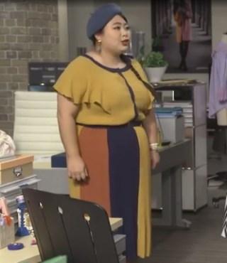 ドラマで見た可愛い服