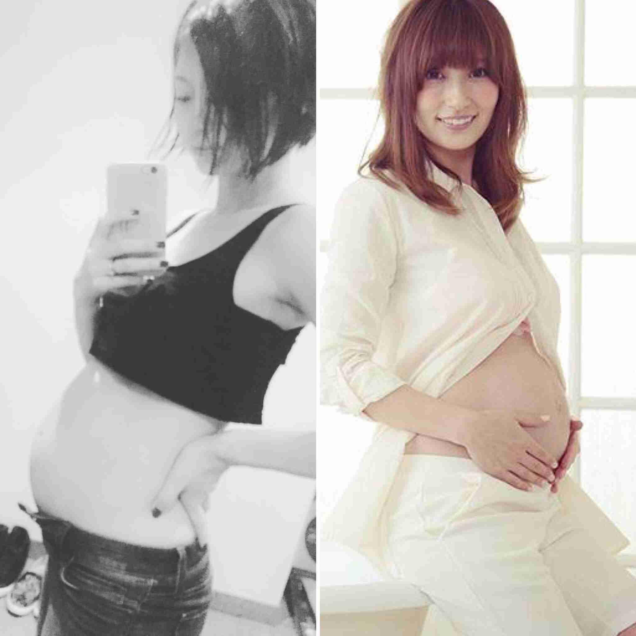 熊田曜子&安田美沙子、妊娠中の苦労語る