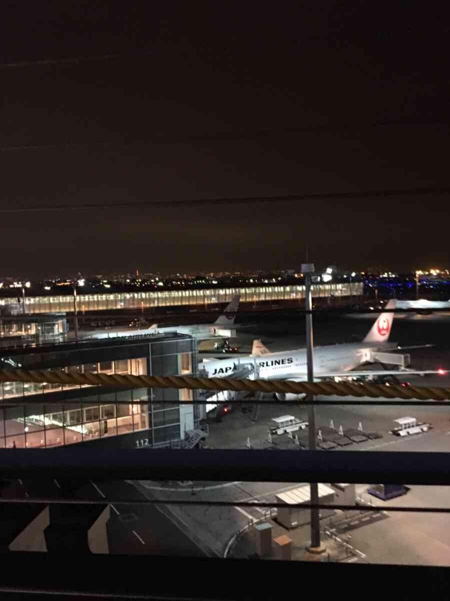 JAL機、トラブルで緊急着陸 離陸直後にエンジンから火