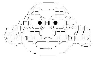 好きなAA(アスキーアート)を貼るトピ