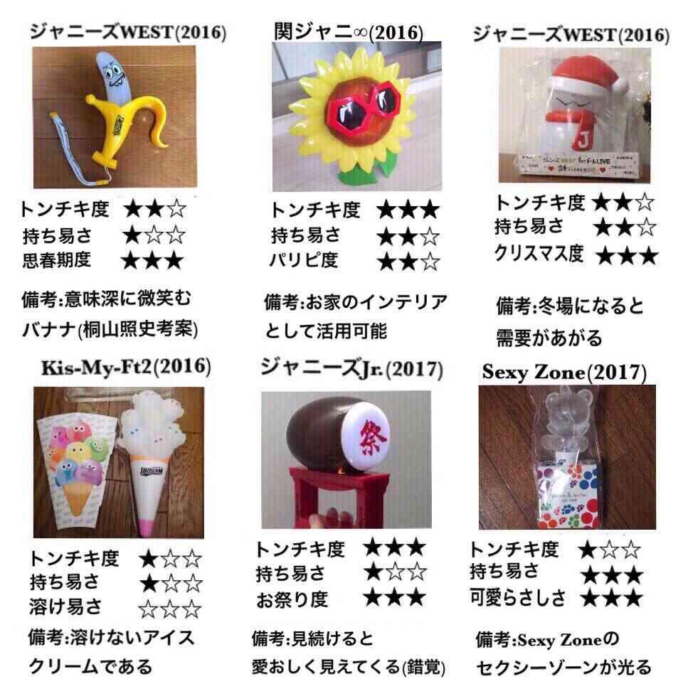 【ネタトピ】ジャニーズのダサいグッズ