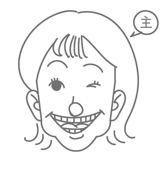 アンバランスな顔の人集合~!