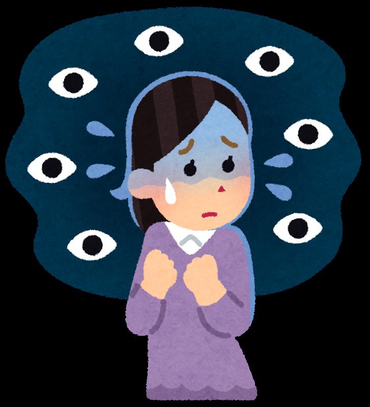 脇見恐怖症について