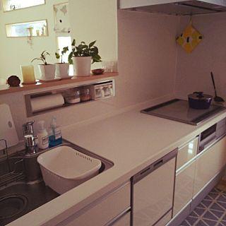 対面キッチンの使い方