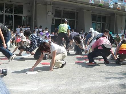 子供の運動会(親の競技)