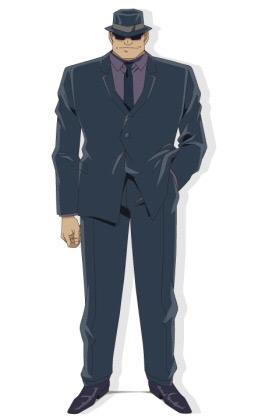 【マンガ・アニメ限定】スーツ姿の男性の画像