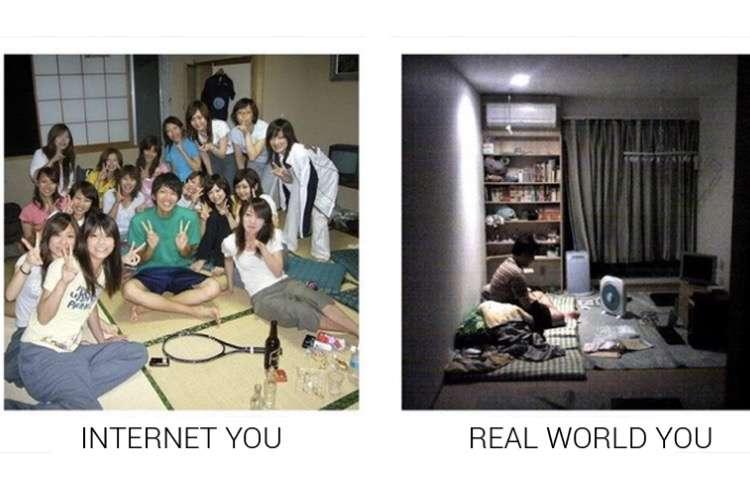 【画像】ネット上のお前らと現実世界のお前らを貼るトピ