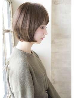 スタイリングが楽な髪型