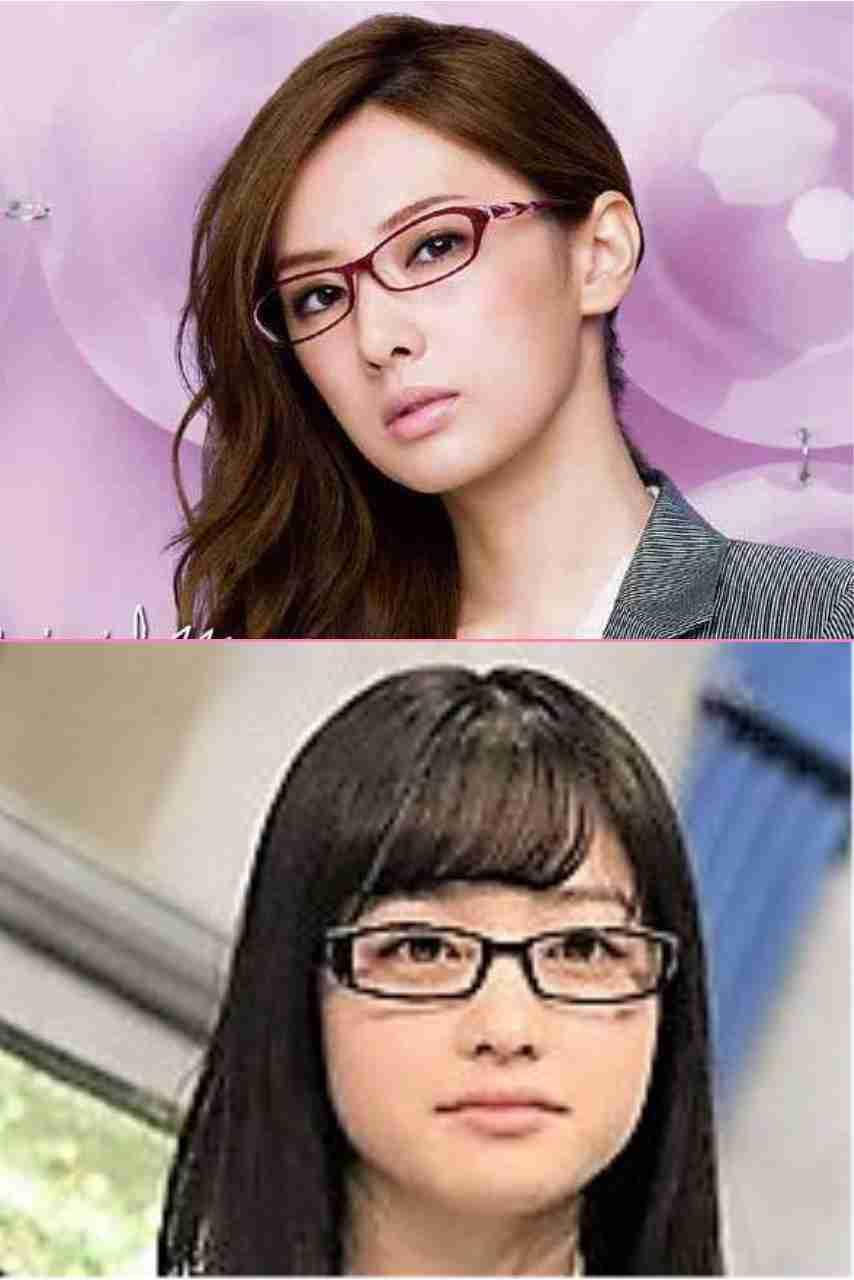 メガネが似合わない人!
