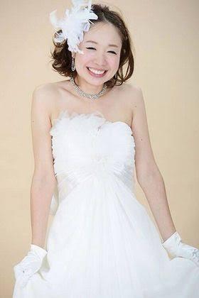 花嫁のヘアスタイル