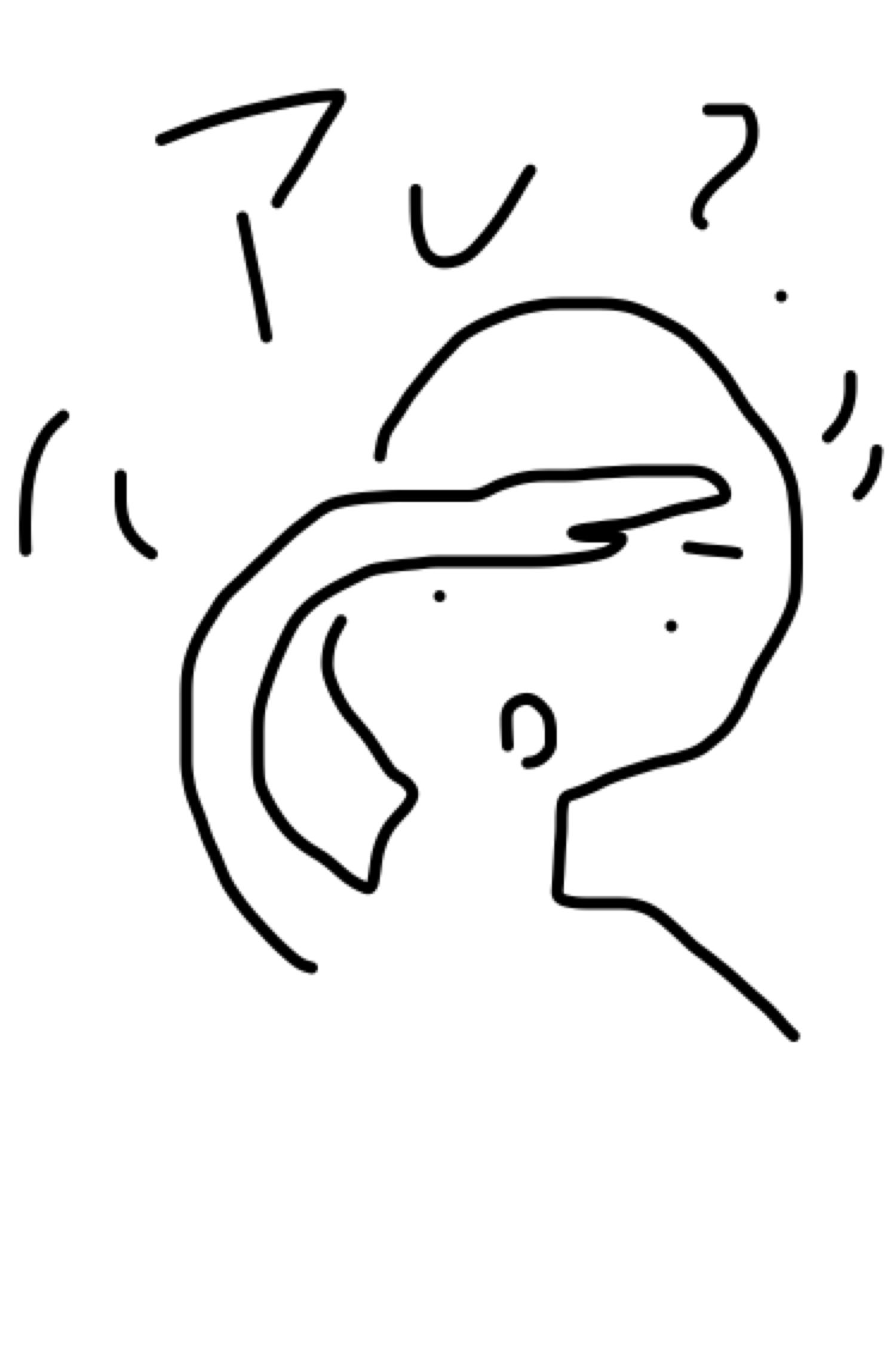 ガルちゃんで使えそうなイラストを描いてみるトピ