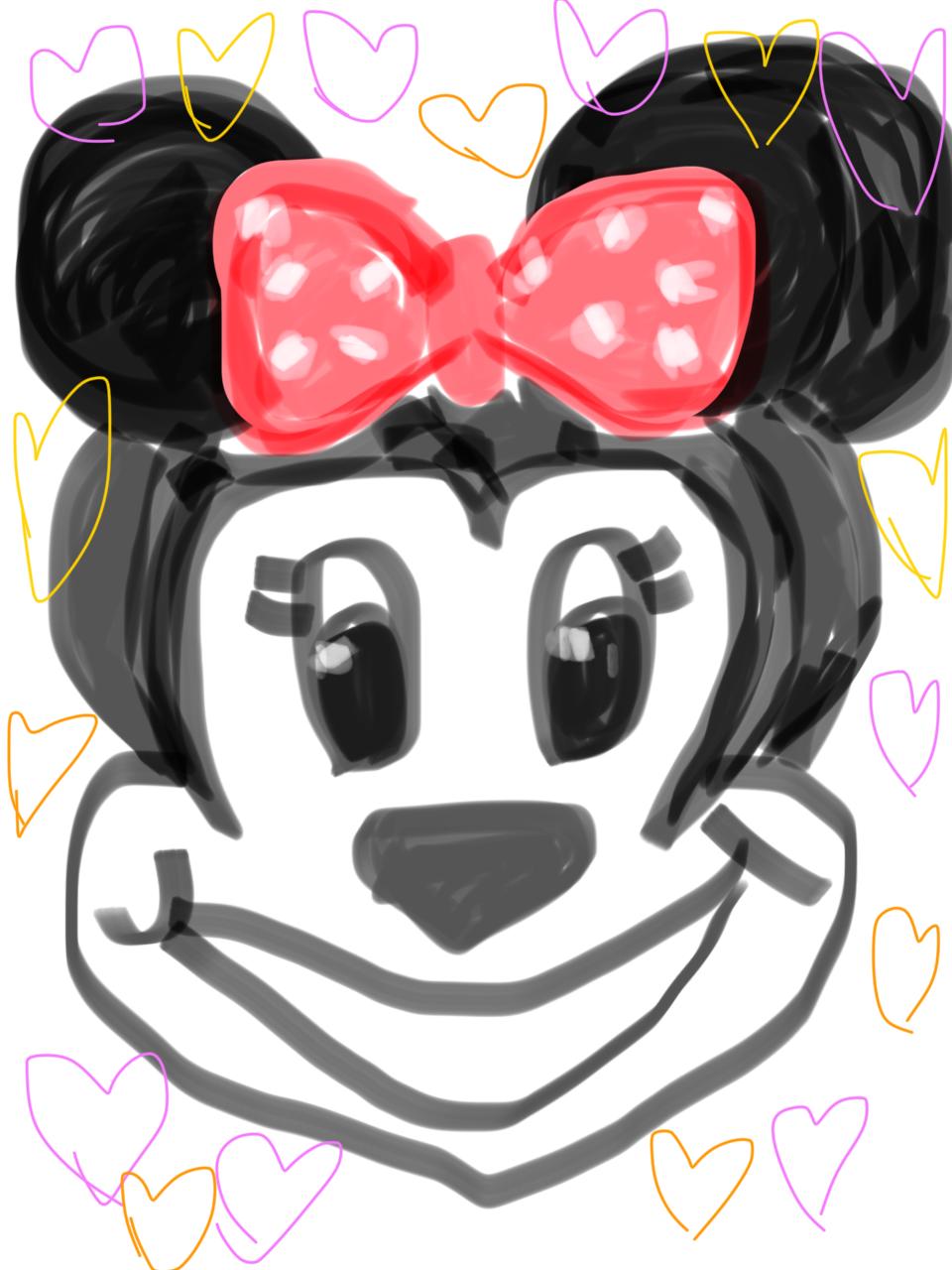 ディズニーキャラを描いてみよう!