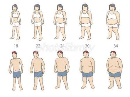 自分の体型をこと細かく文章で説明するトピ