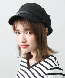 2017秋冬の帽子コーデ