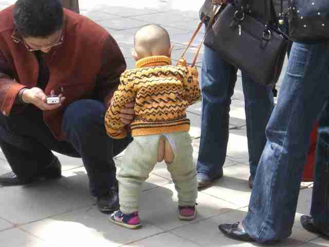おむつなし育児