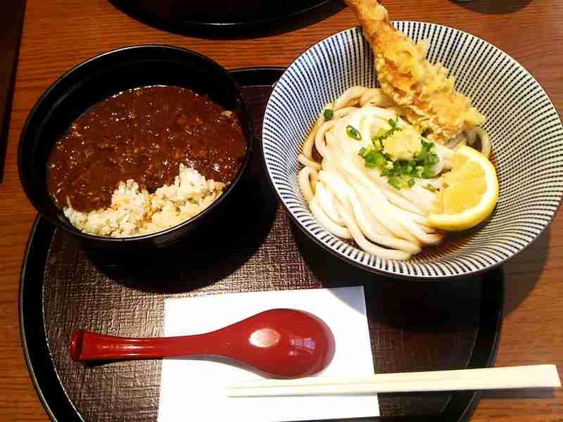 【画像】ごはんもの+麺類の満足セット