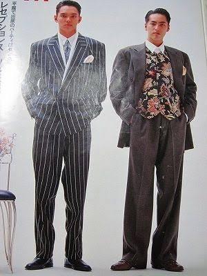 派手なスーツ画像下さい