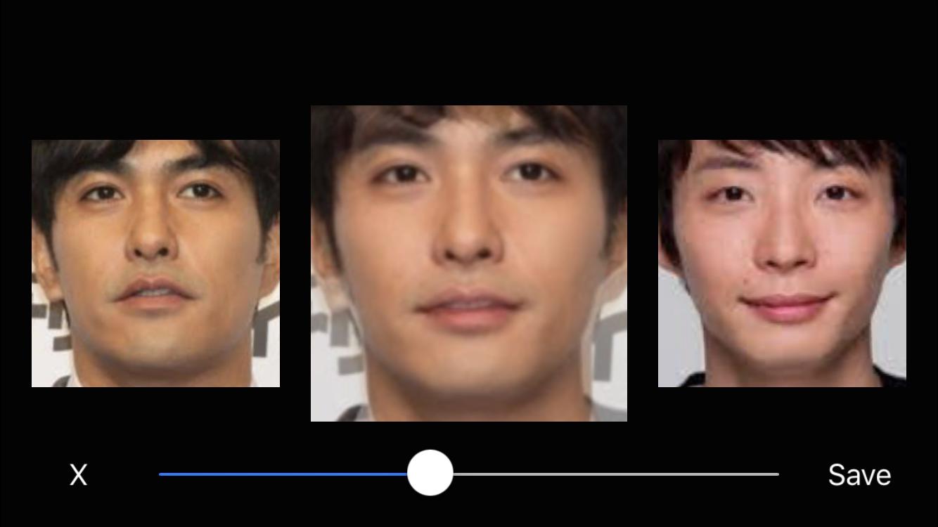 【画像】芸能人2人の顔をアプリを使ってミックス(合成)させてみるトピ