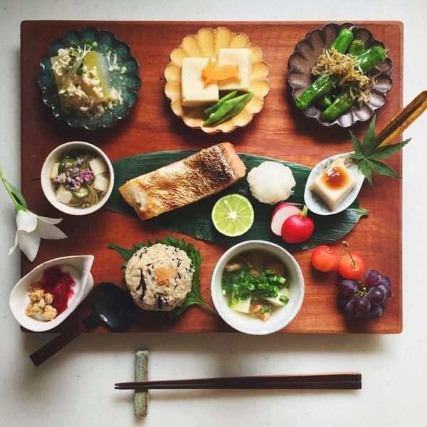 家庭料理の美しい盛り付け方