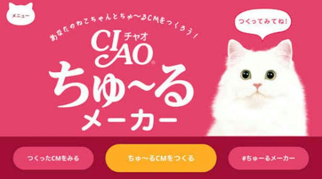 評判の「CIAOちゅ〜る」皆さんの猫の初体験