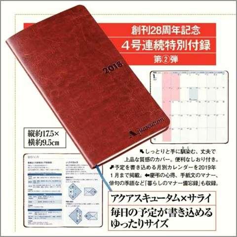 【定期】雑誌付録11・12月号【トピ】