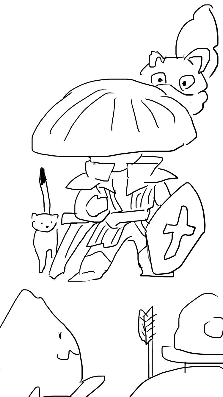 【お絵かき】ゲームキャラ、もしくはゲーム画面を描いて何の作品か当てるトピ