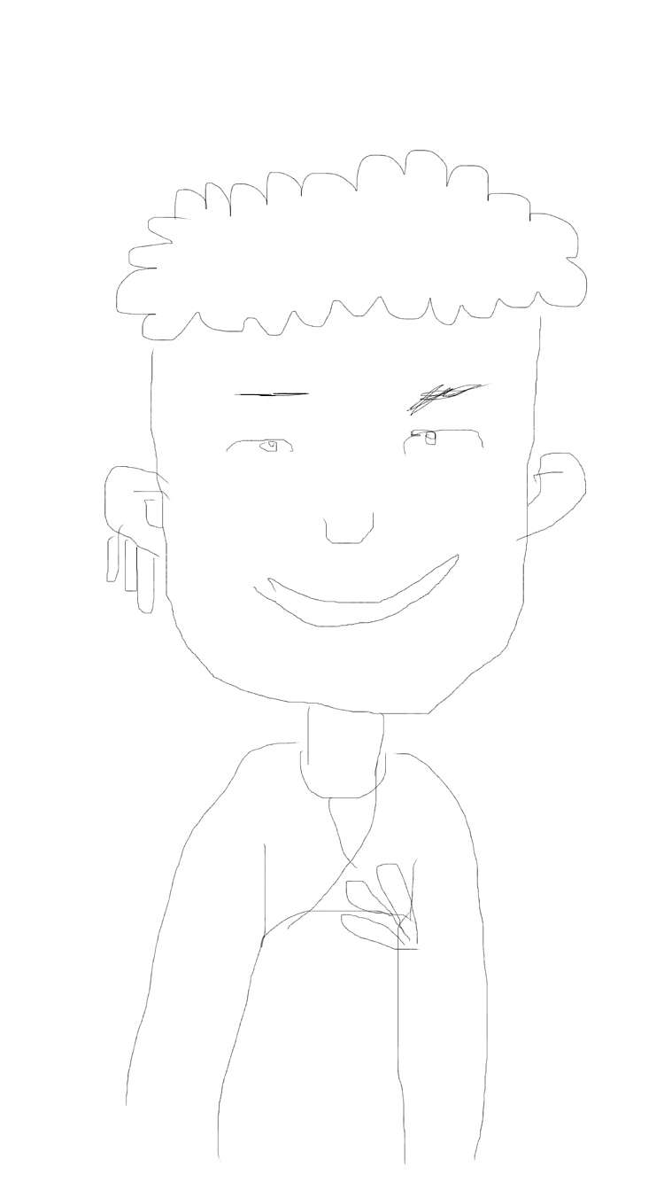 自分の好きなキャラクターを絵で紹介するトピ