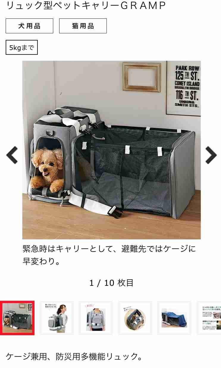 犬&猫のキャリーバッグについて
