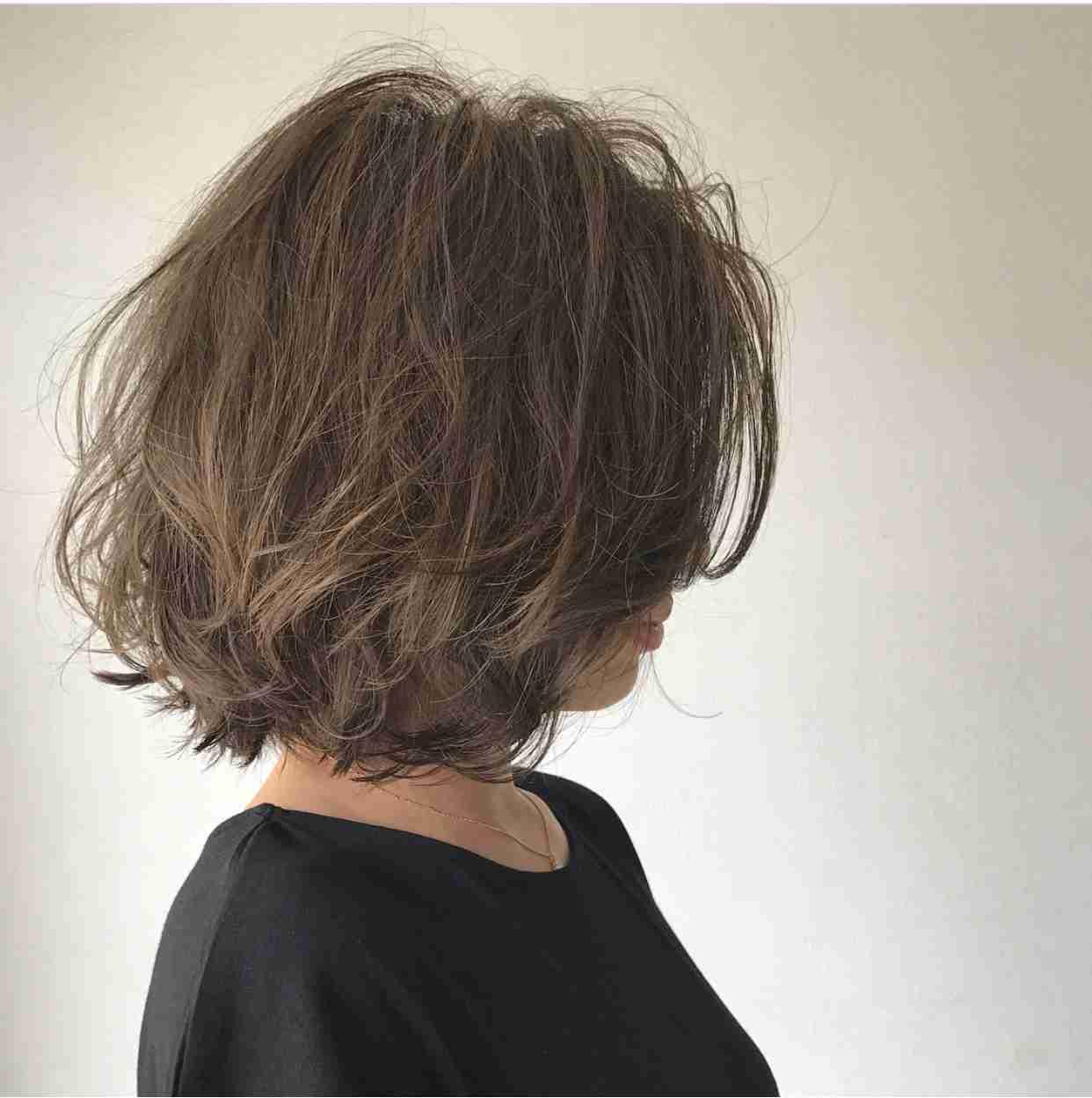 三十代前半の髪型、髪色