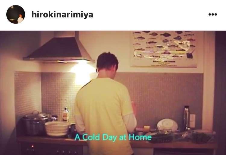 成宮寛貴さんのニコニコ料理姿にファン歓喜