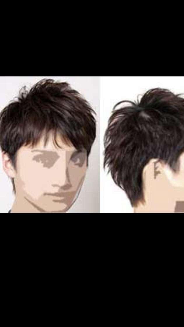 彼氏の髪型