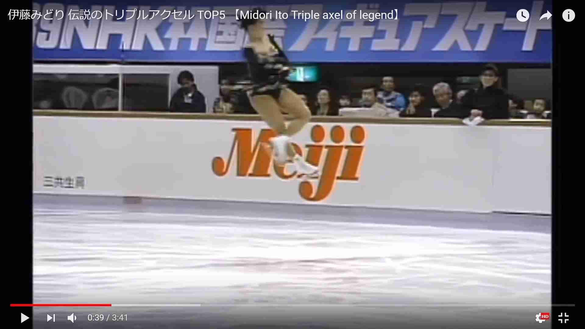 歴代のフィギュアスケーターを語ろう。