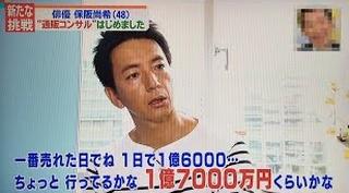 保阪尚希 今や通販王 儲ける秘訣とこだわり過ぎる生活明かす