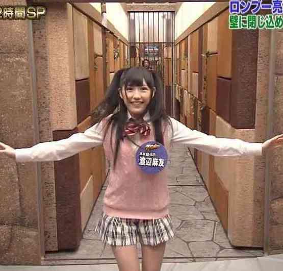 AKB48渡辺麻友1日店長 接客業初体験「楽しかった」