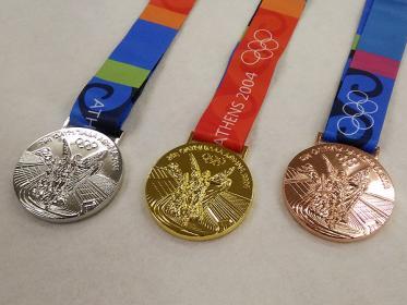 オリンピックのメダルがみたい