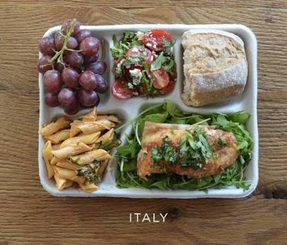 学校の給食、最高な組み合わせ作ろう!