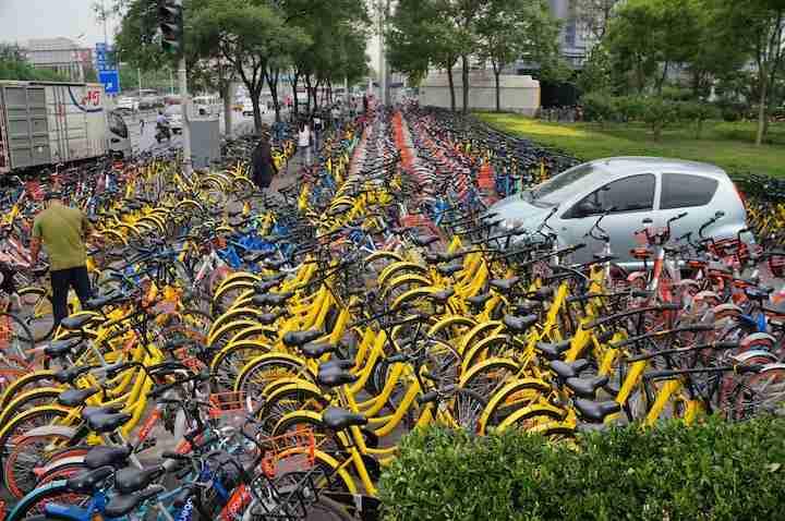 セブンイレブン1千店、シェア自転車の拠点に まずは9店舗から