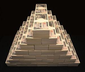 財布の中見て現在の残金報告するトピ