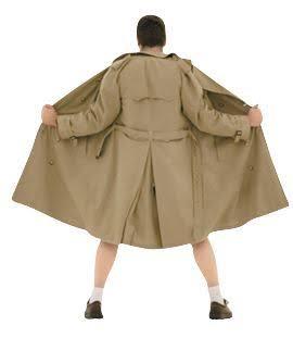 コートの前、開ける?閉める?