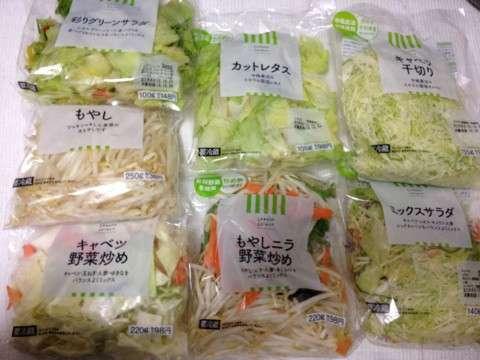 カット野菜使いますか?